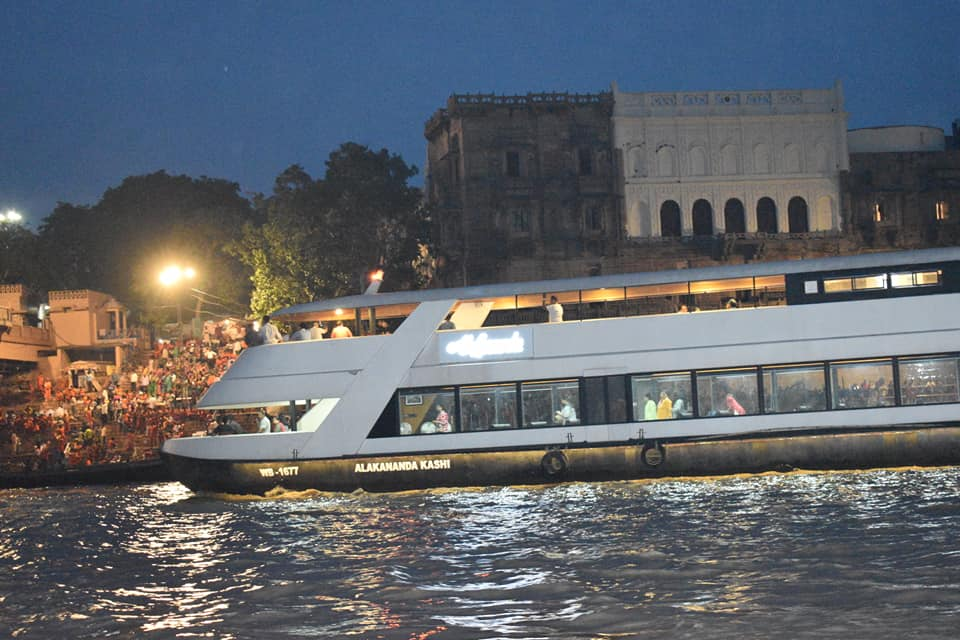 Image result for luxury cruise in varanasi