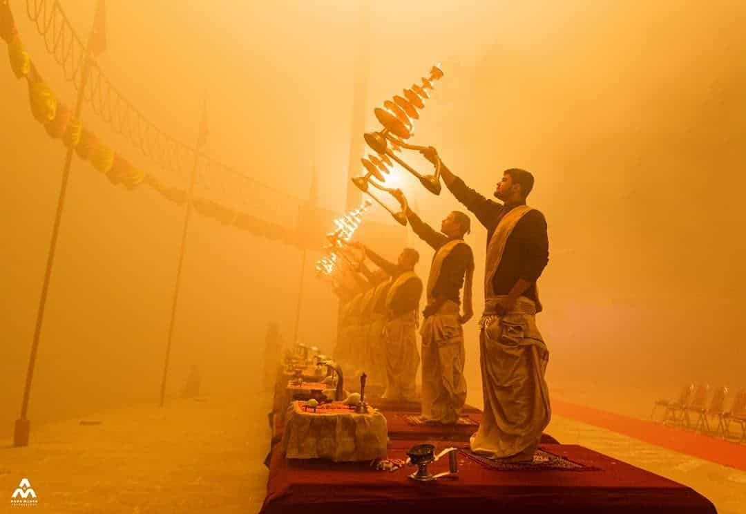 Assi Ghat Morning Aarti