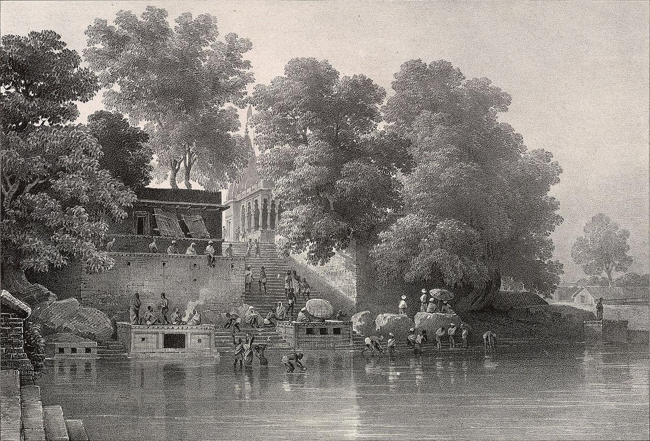 Kapil dhara, panchkroshi yatra, Varanasi