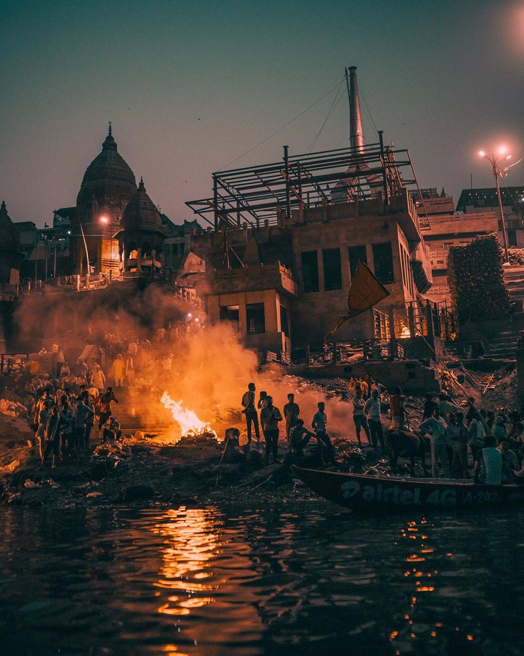 Manikarnika - The burning ghat of Varanasi